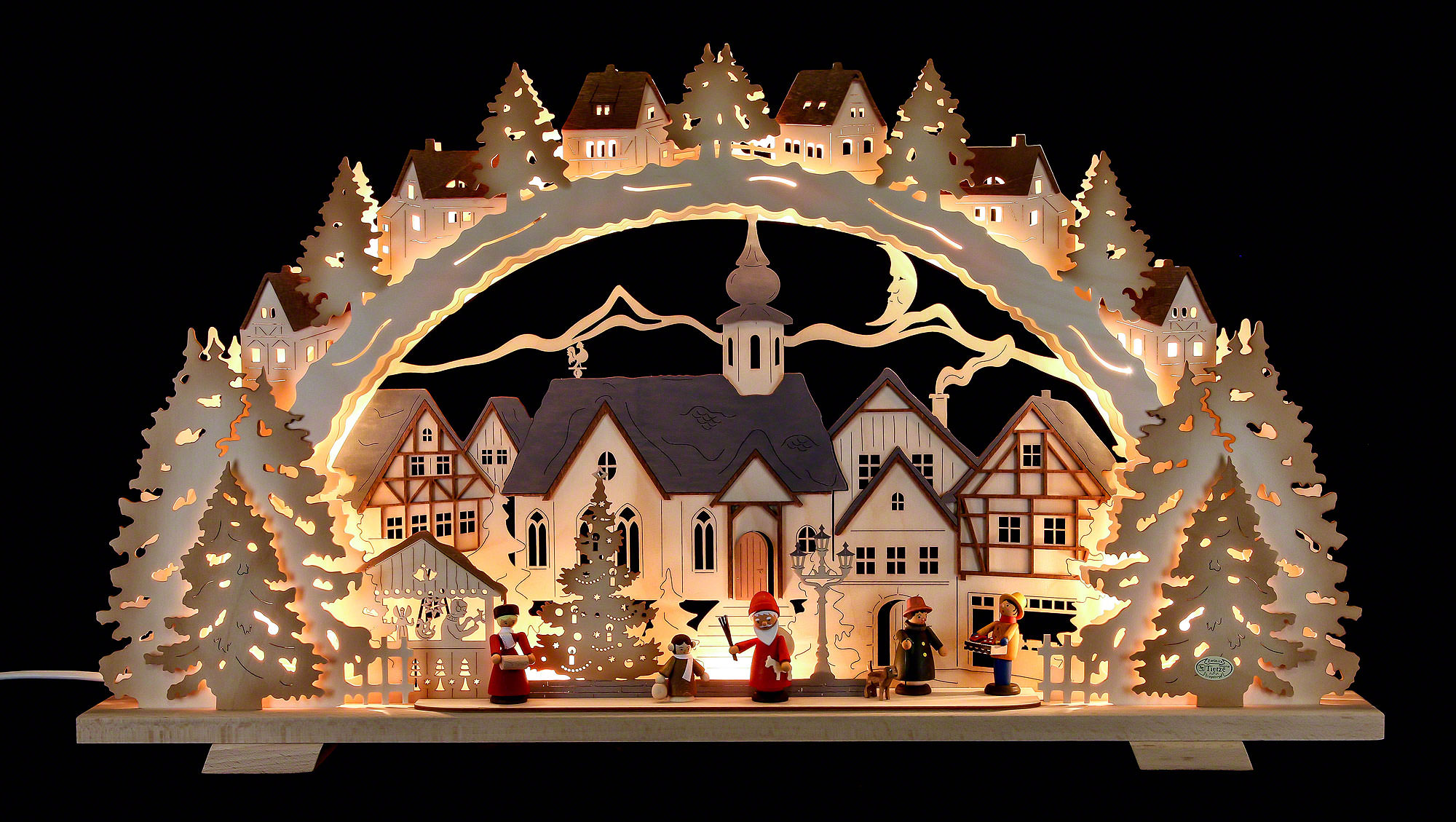 Candle arch christmas time exclusive 72 41 7 cm 28 3 16 for Arch candle christmas decoration
