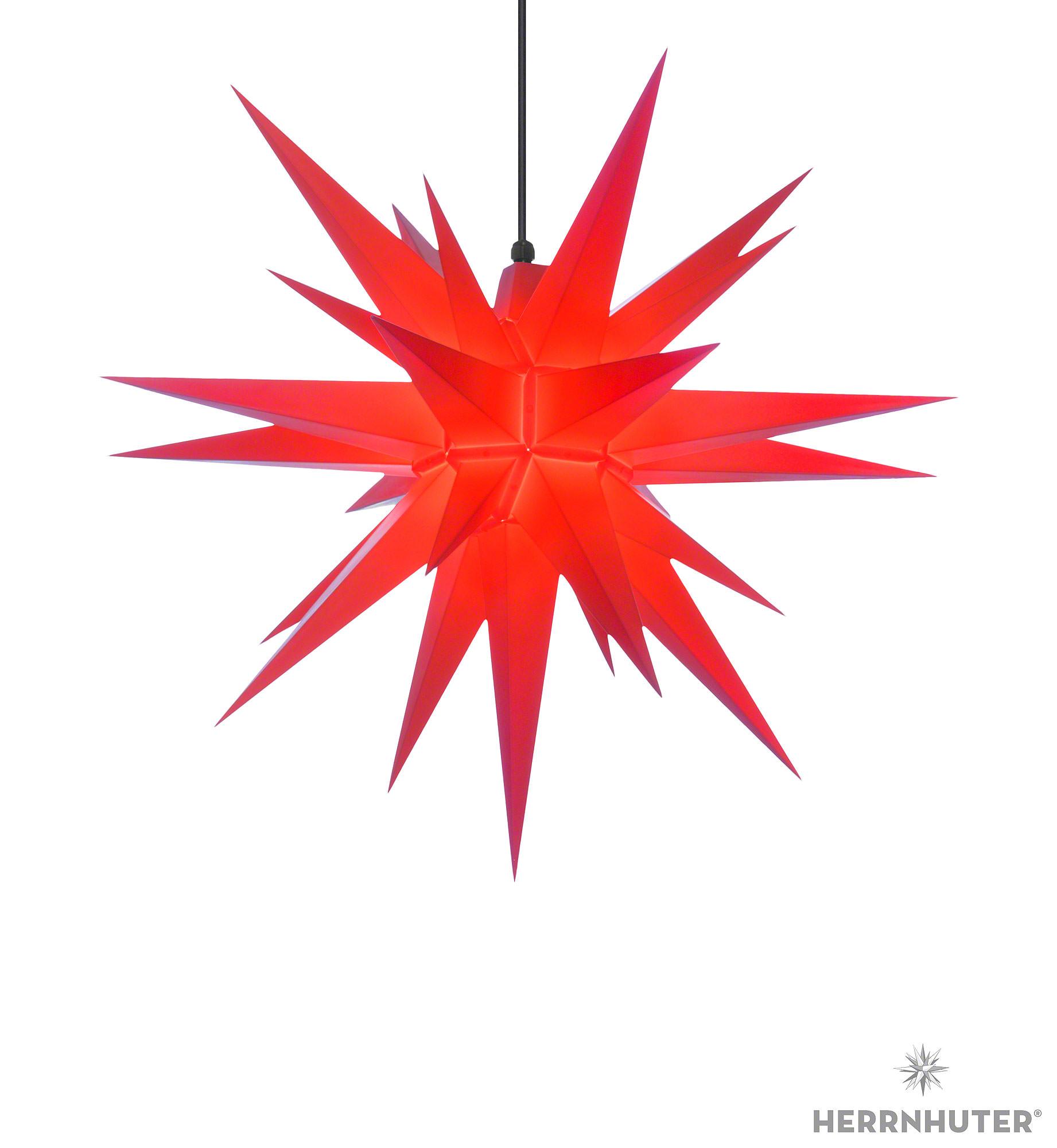 herrnhuter stern a7 rot kunststoff 68 cm von herrnhuter sterne. Black Bedroom Furniture Sets. Home Design Ideas