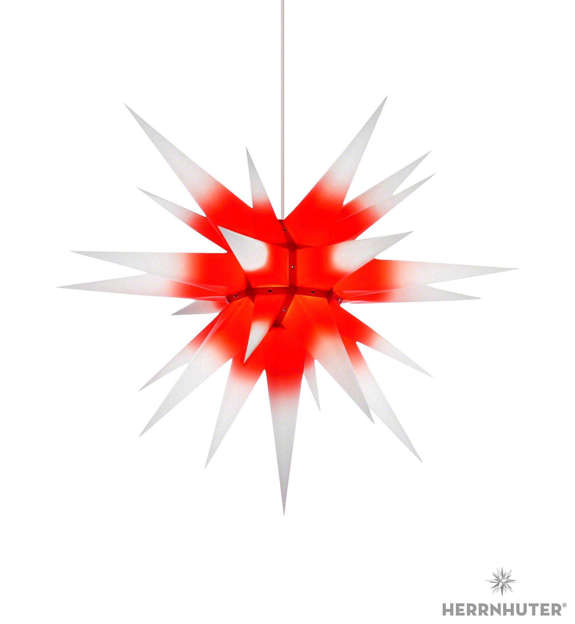 herrnhuter stern i7 wei roter kern papier 70cm von. Black Bedroom Furniture Sets. Home Design Ideas