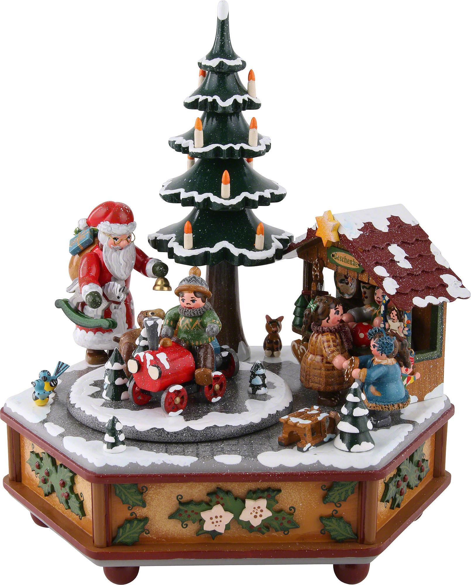 Musical Christmas Ornaments That Play Music - Music box christmas 22 cm 9 inch