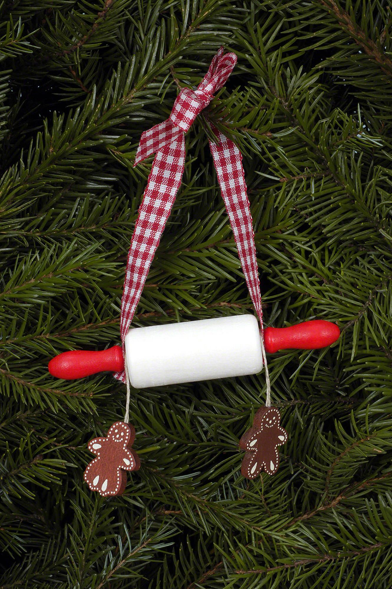 Rolling pin ornament - Tree Ornament Rolling Pin 10 0 X 2 1 Cm 4 X 1 Inch